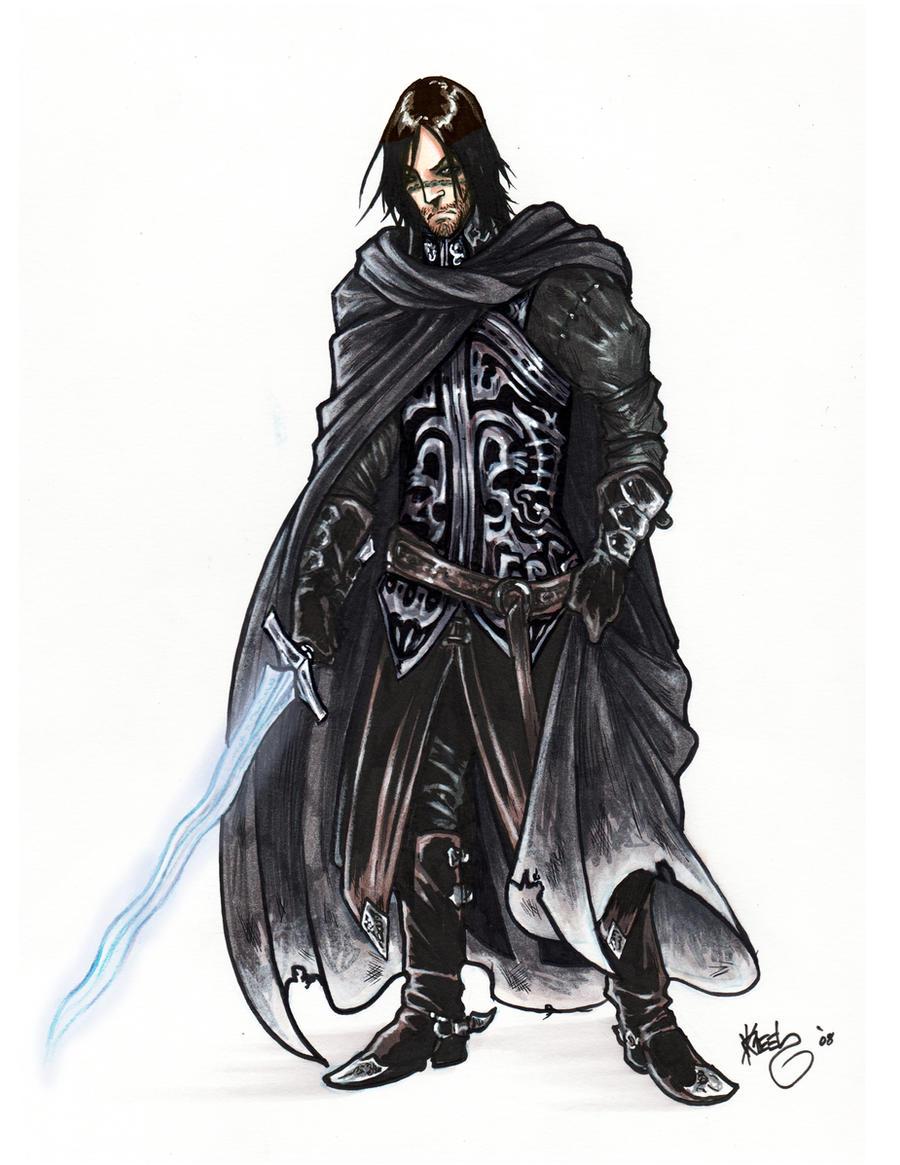 Anime Male Swordsman