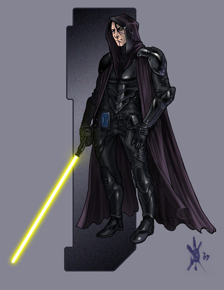 Jedi Sentinel by thedarkestseason