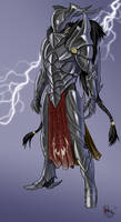 Storm Knight by thedarkestseason