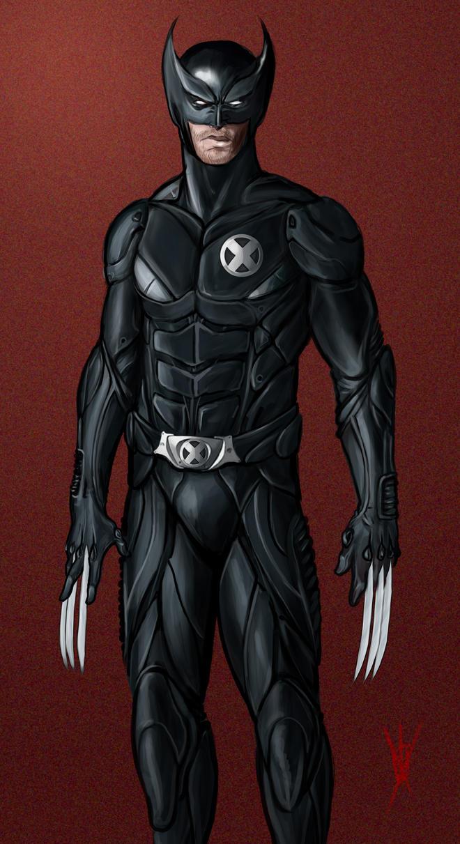 Man Of Steel 2 Batman Costume Wolverine: Back In Bla...