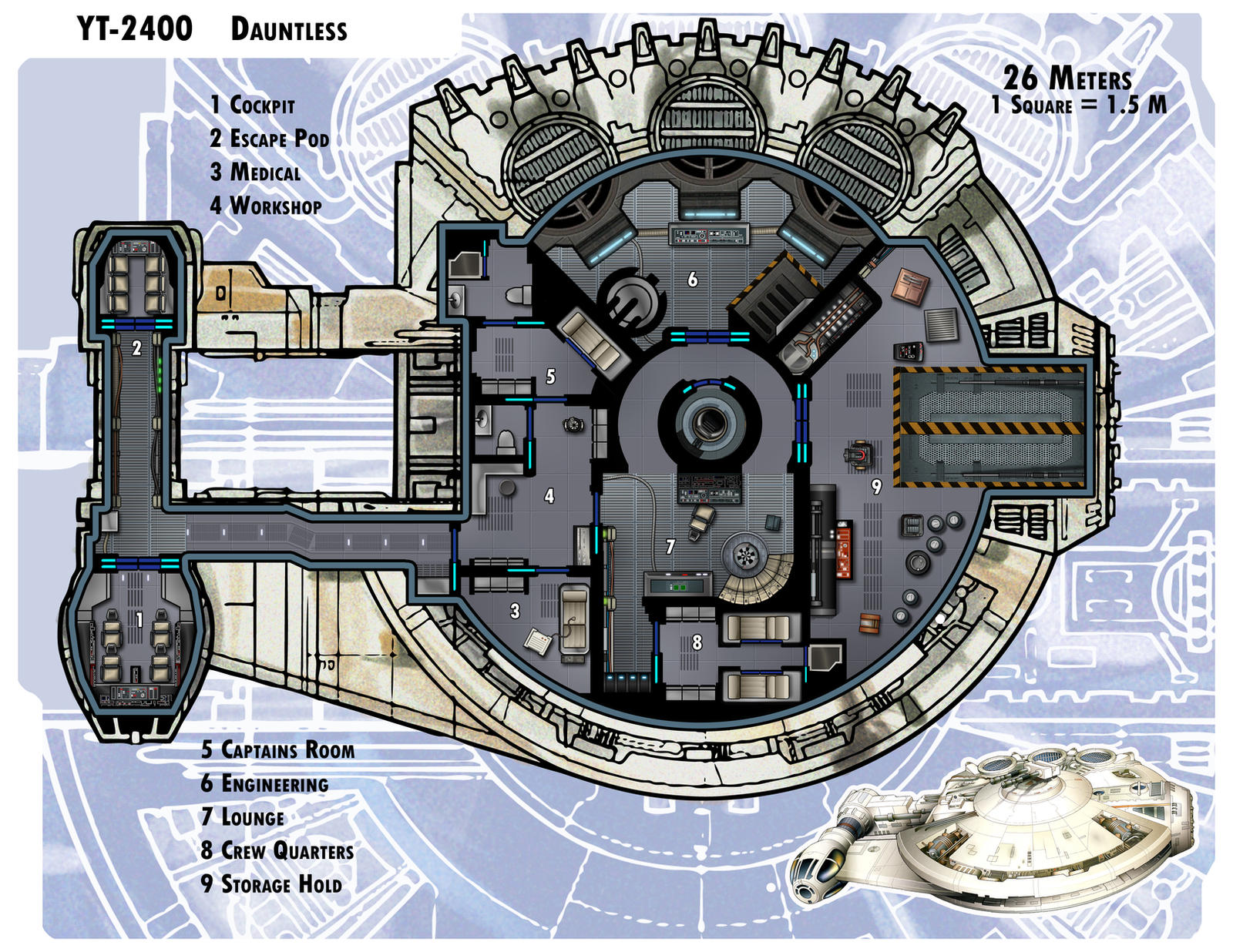 star wars starship floor plans google search edge of