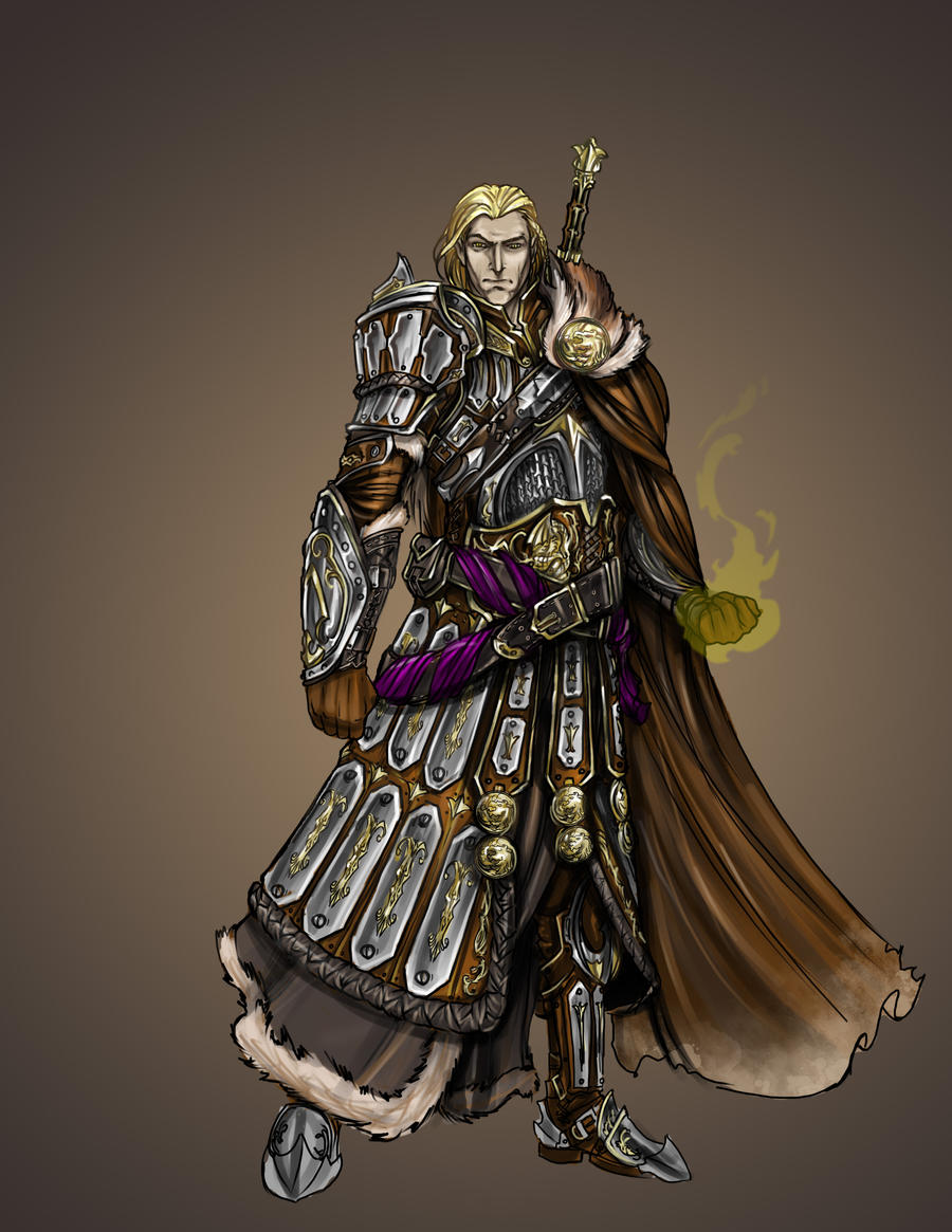 Dragon Born Paladin by thedarkestseason