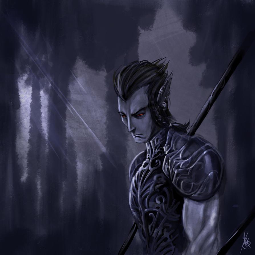 The polearm master by thedarkestseason