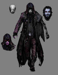 My inquisitor for our Star Wars game. by thedarkestseason