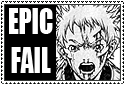 Raki: Epic Fail stamp by eva-st-clare