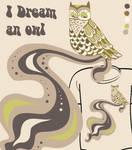 I dream an owl