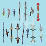 Zidane's weapons