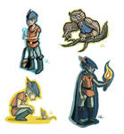King's quest stickers