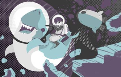 Space Shark! by Lexie-Holliday