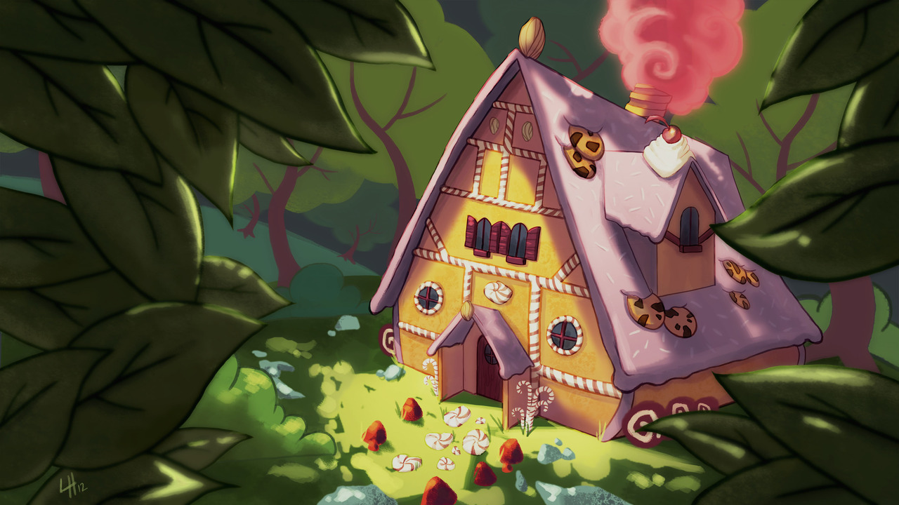 Gingerbread House Remix