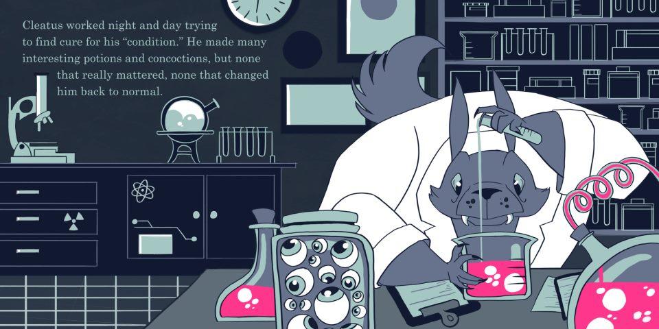Werewolf Scientist Part 2