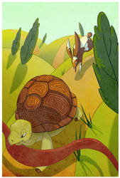 The Tortoise and the Hare by Lexie-Holliday