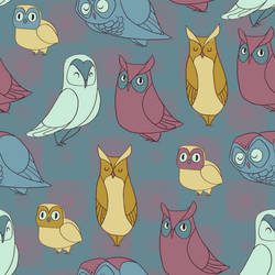 Owl Pattern by Lexie-Holliday