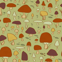Mushroom Pattern by Lexie-Holliday