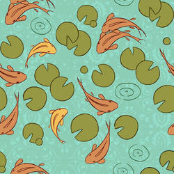Koi Pond Pattern by Lexie-Holliday