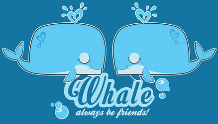 Whale Friends Forever! by Lexie-Holliday