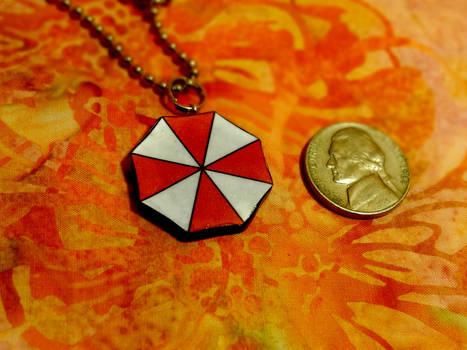 Resident Evil Umbrella Corporation Necklace