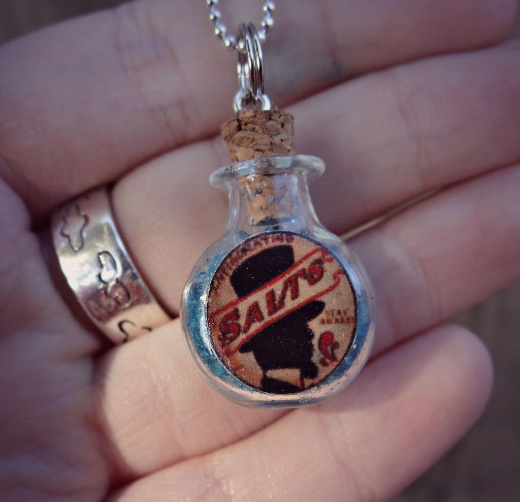 phial of salts necklace by thegeekemporium on deviantart