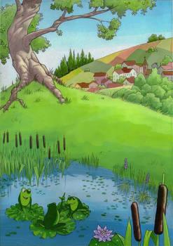 Three frogs 04
