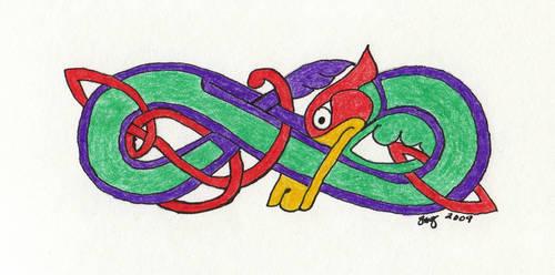 Knot, the Dragon by Avarahaiel