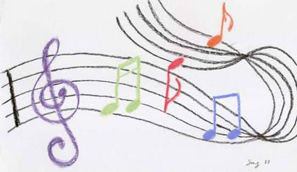 Music to My Eyes by Avarahaiel
