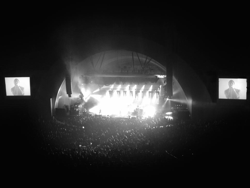 Nine Inch Nails Hollywood Bowl by derekfreedesign on DeviantArt