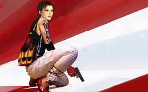 Lara Croft alias Faith by AeonlX