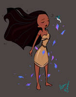 Pocahontas by Dreemers