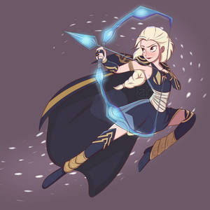 Elsa, the Frost Archer