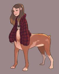 Dog Centaur by Dreemers