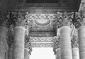 Columns of Pantheon by cementum