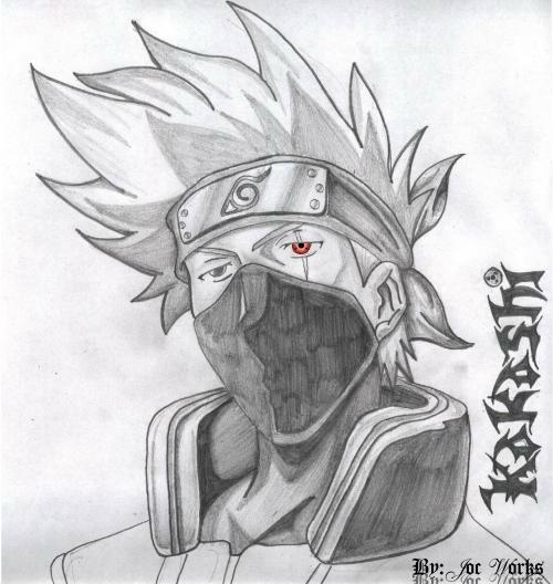Image Result For Kakashi Sharingan Coloring