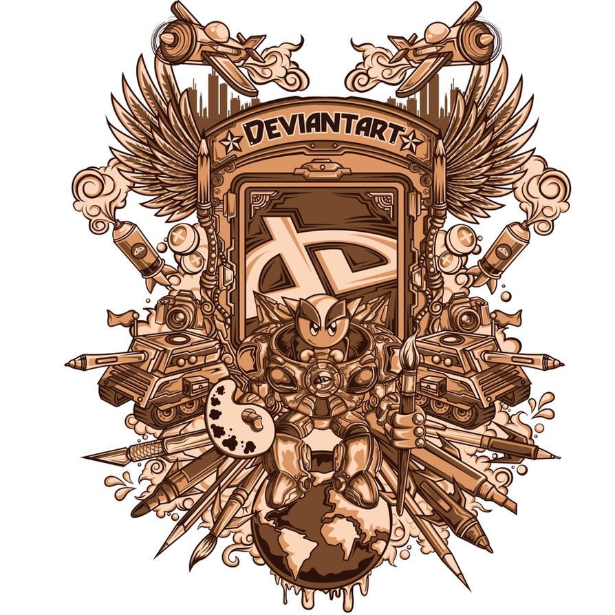 Deviantart contest Design by jml2art