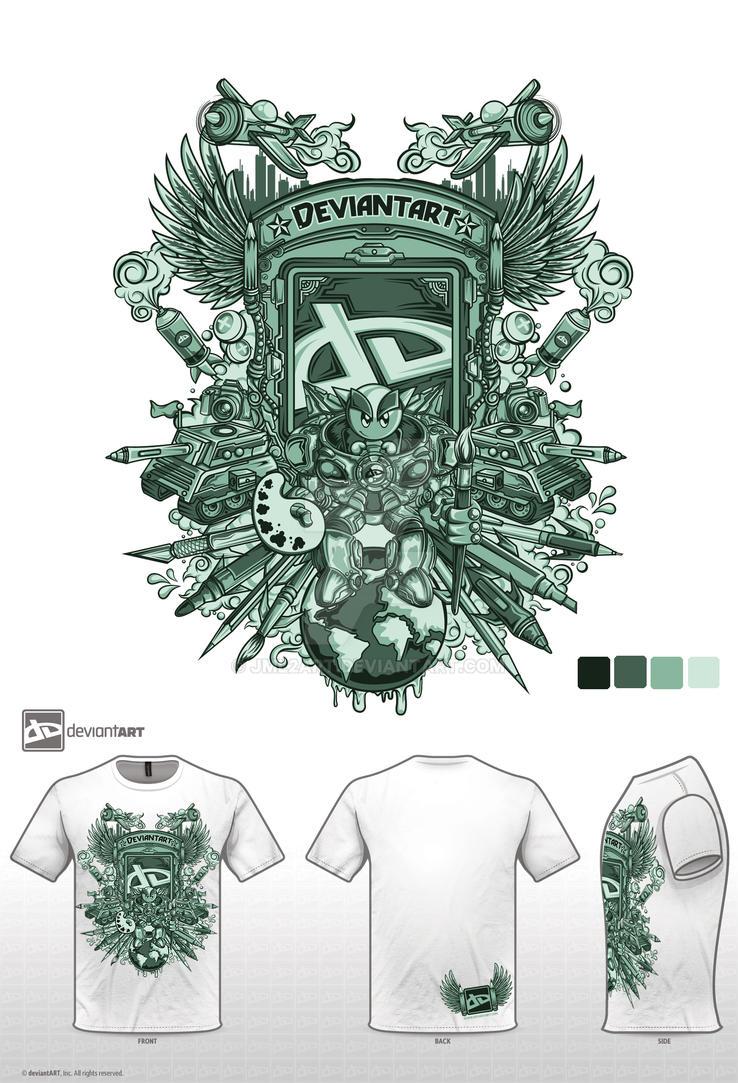 green da tshirt contest by jml2art
