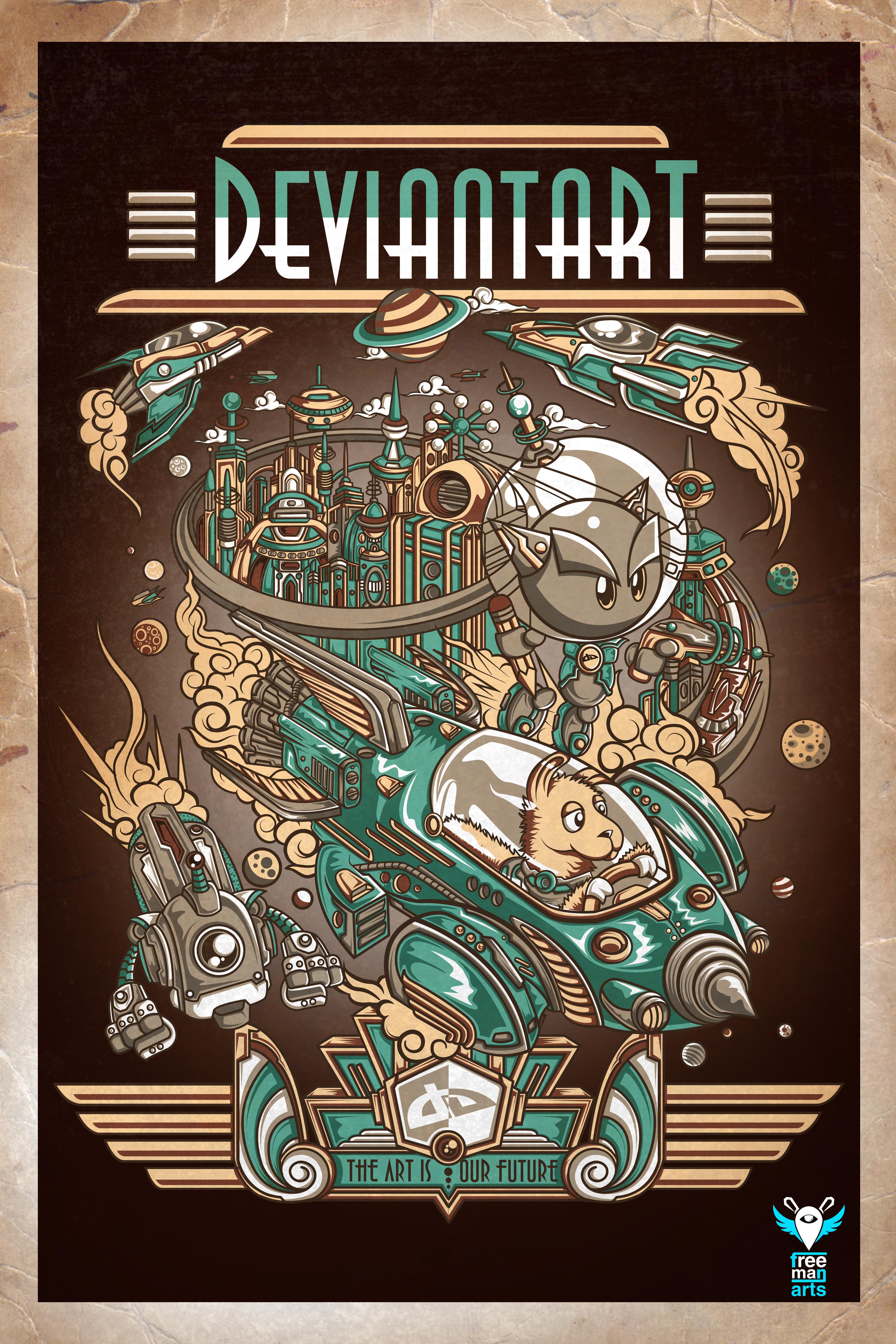 Retro Poster by jml2art