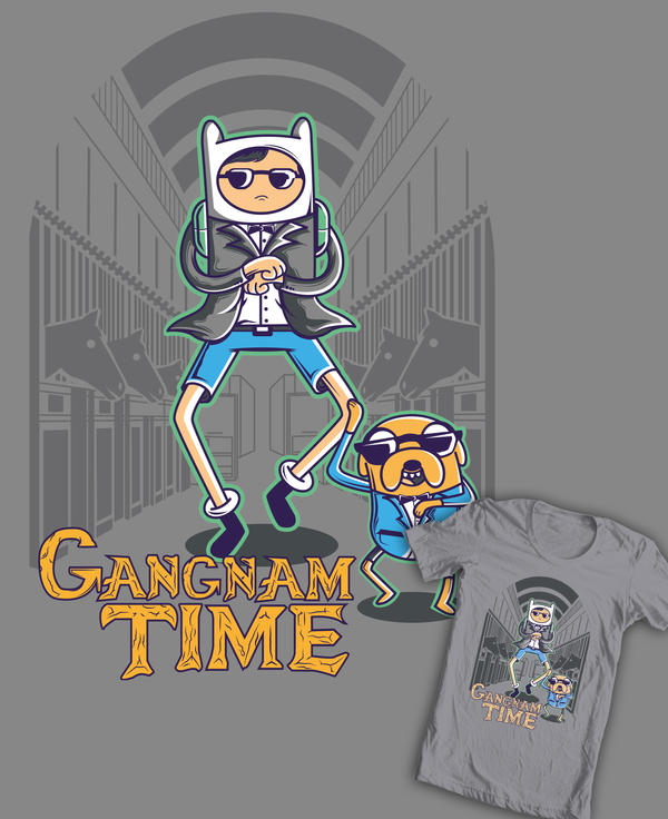 Is Gangnam Time by jml2art