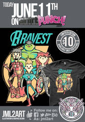 Bravest Avengers ONLY TODAY FOR $10 on shirtpunch by jml2art