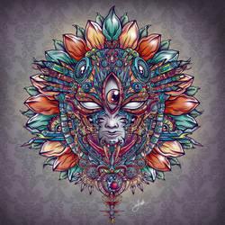 Heart of Mask by jml2art