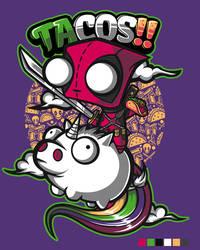 Tacos and Unicorns by jml2art