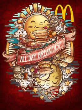 Mcdonalds All day breakfast Threadless contest