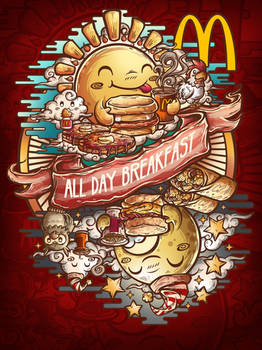 Mcdonalds All day breakfast Threadless contest