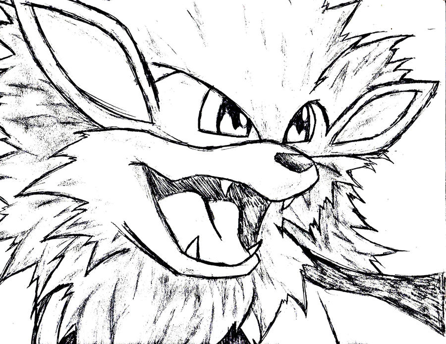 arcanine coloring pages - photo#26