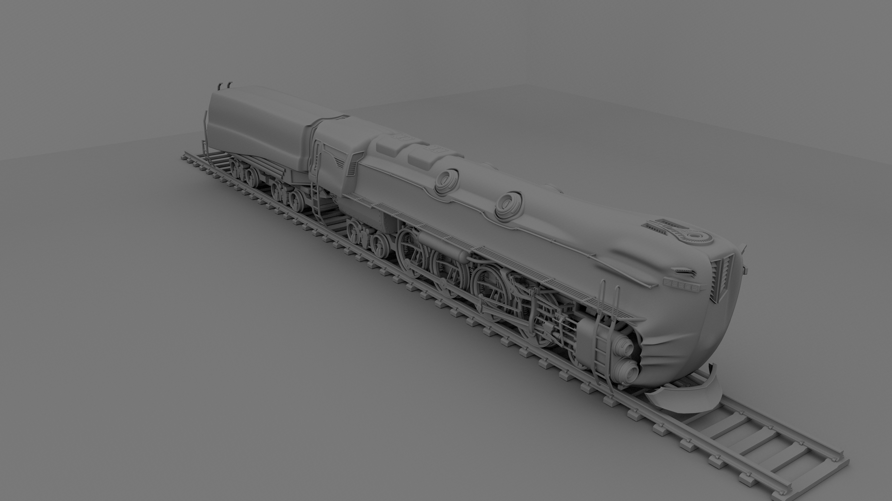 my concept locomotive 2 by forgedOrder