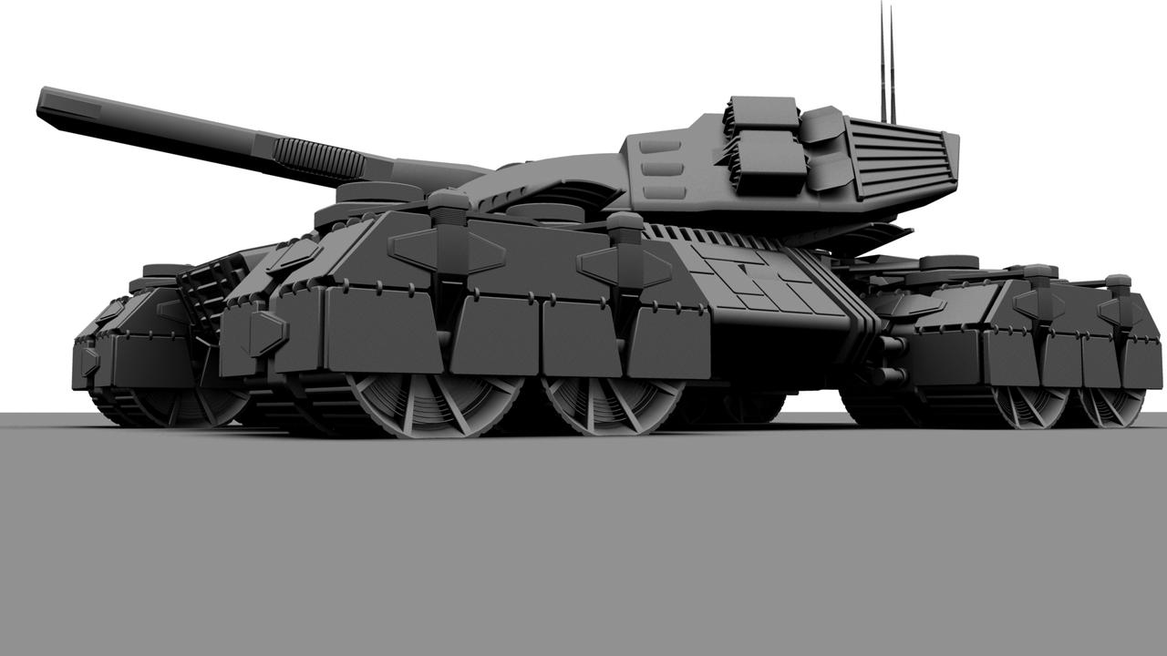Future Weapons Tank 2 By ForgedOrder