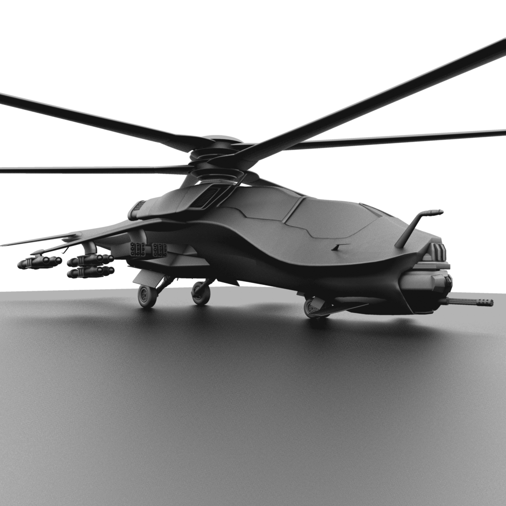 Future Helicopter - The Face by forgedOrder