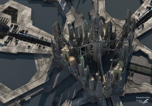 Atlantis V-Ray transition