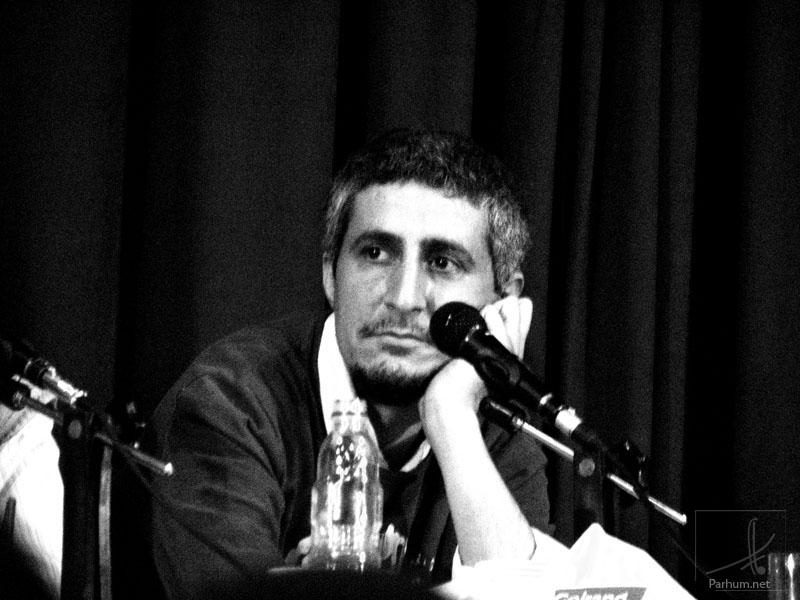محسن نامجو در جلسه نغمه نقد، عکس از پرهام خوشبخت