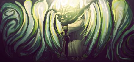 Yoda by sonatabrej
