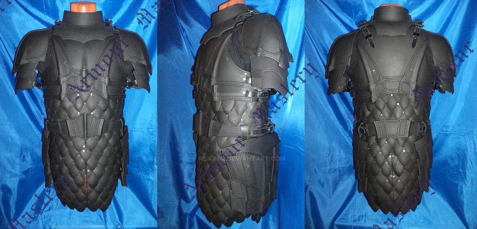 how to make dragon scale armor