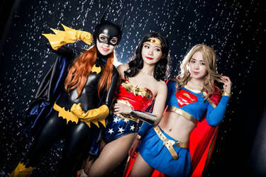 DC comics by Diddy-Yeoul